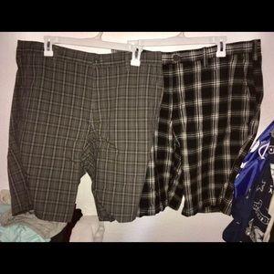 Used Men's shorts bundle size 36 gap & H&M (READ)